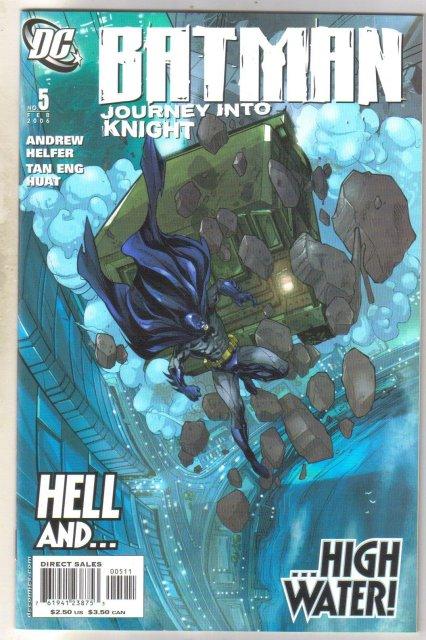 Batman Journey Into Knight #5  comic book mint 9.8