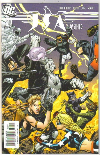 JSA Classified #6 comic book mint 9.8