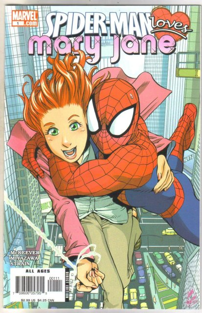 Spider-man Loves Mary Jane #1 comic book mint 9.8
