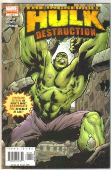 Incredible Hulk Destruction #1 comic book mint 9.8