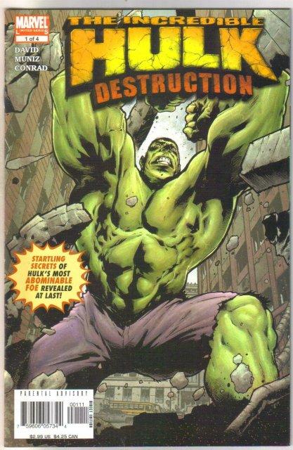 Incredible Hulk Destruction #1 comic book mint 9.8
