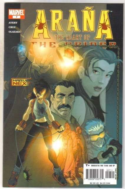 Arana #7 comic book mint 9.8