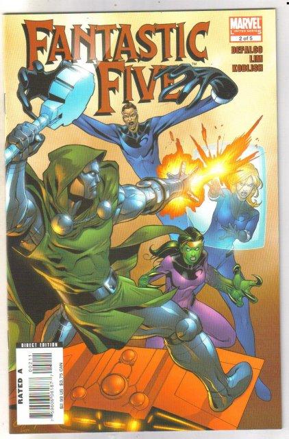 Fantastic Five #2 comic book mint 9.8