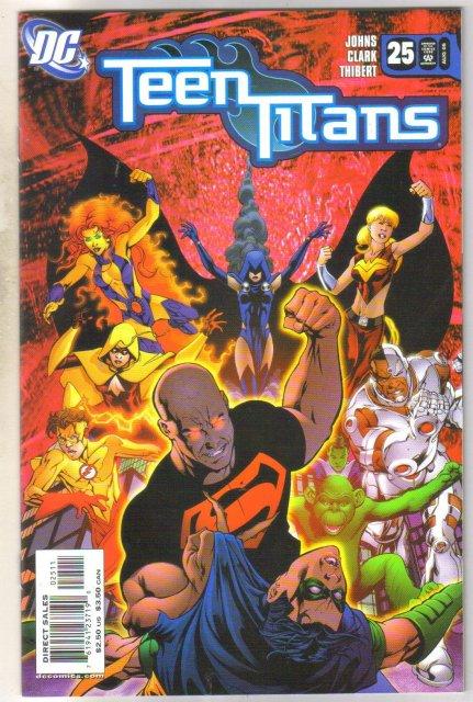 Teen Titans #25 comic book mint 9.8