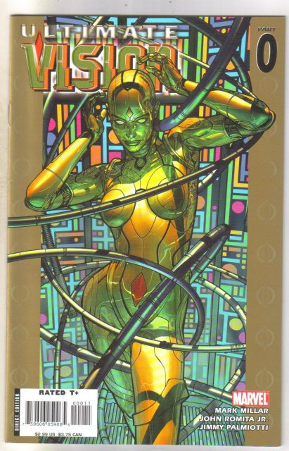 Ultimate Vision #0 comic book mint 9.8
