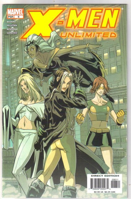 X-men Unlimited #6 Comic book mint 9.8