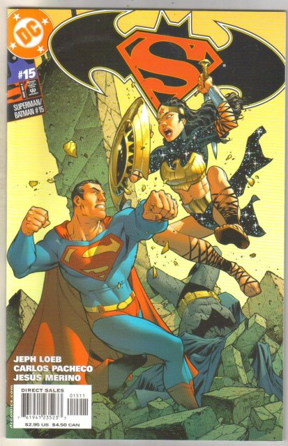 Superman/Batman #15 Comic book mint 9.8