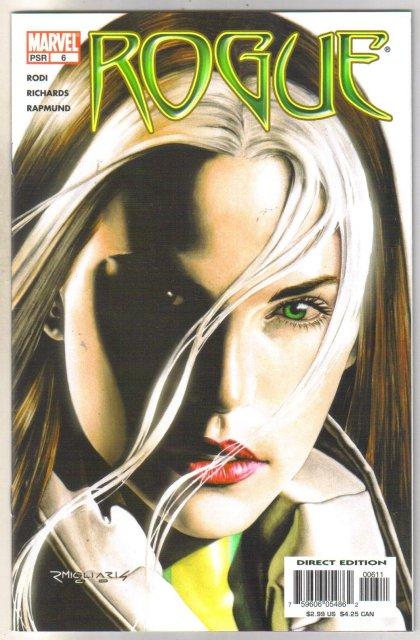 Rogue #6 comic book mint 9.8