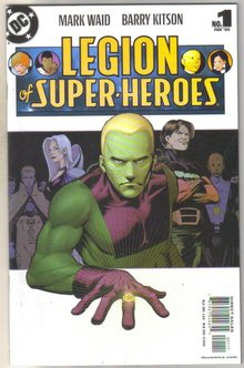 Legion of Super-heroes #1 comic book mint 9.8