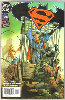 Superman/Batman #16 comic book mint 9.8