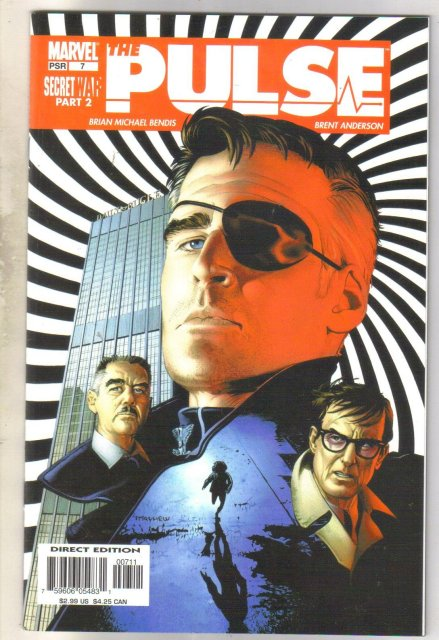 Pulse #7 (Nick Fury) comic book mint 9.8