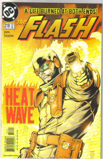 The Flash #218 comic book mint 9.8