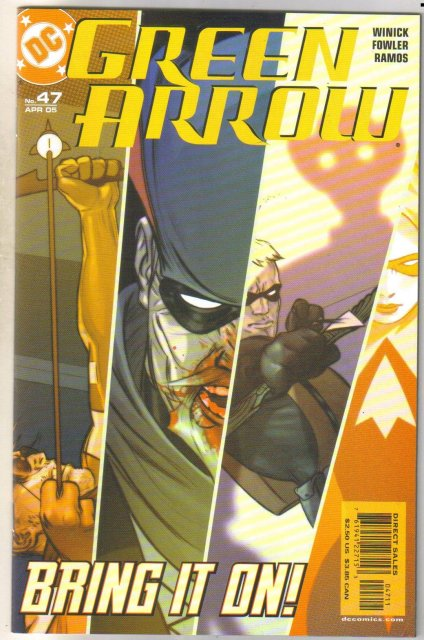 Green Arrow #47 comic book mint 9.8