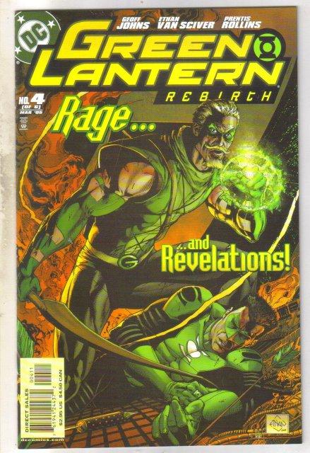 Green Lantern Rebirth #4 comic book mint 9.8