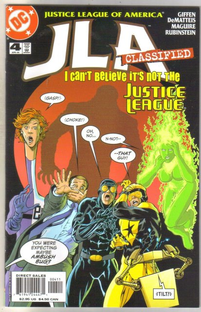 JLA Classified #4 comic book mint 9.8