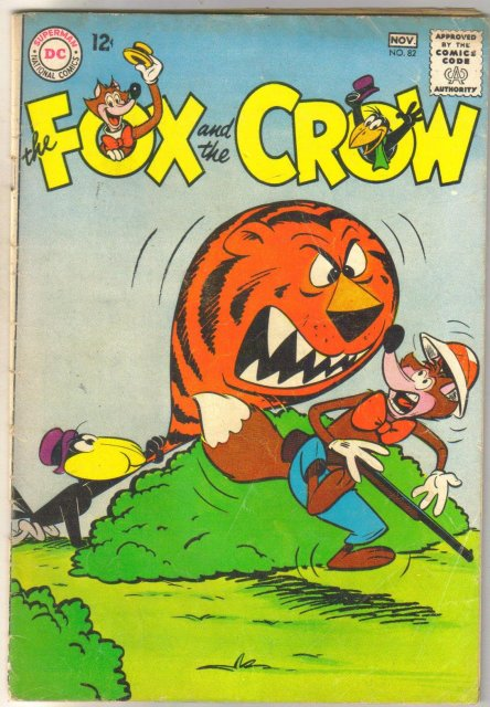 The Fox and the Crow #82 comic book very good 4.0