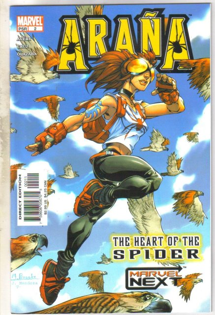 Arana #2 comic book mint 9.8