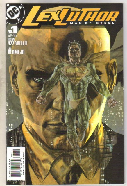 Lex Luthor #1 Man of Steel comic book mint 9.8