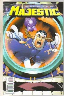 Majestic #3 comic book mint 9.8