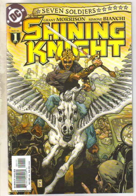Seven Soldiers Shining Knight #1 comic book mint 9.8