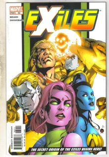 Exiles #62 comic book mint 9.8