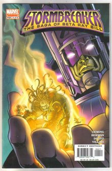 Stormbreaker #4 The Saga of Beta Ray Bill comic book mint 9.8