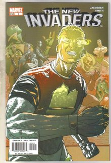 The New Invaders #9 comic book mint 9.8