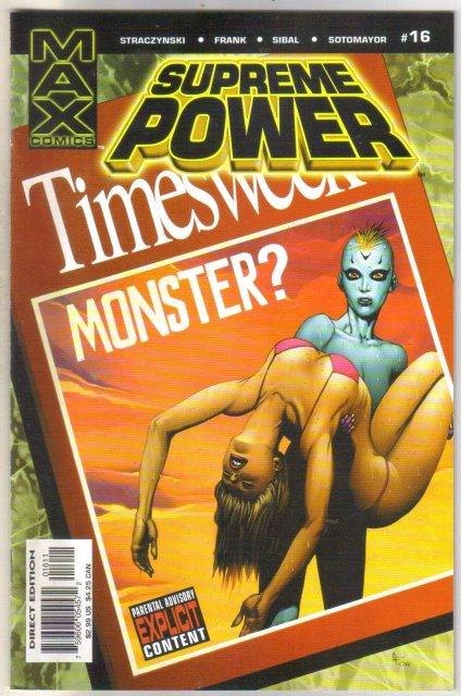 Supreme Power #16 comic book mint 9.8