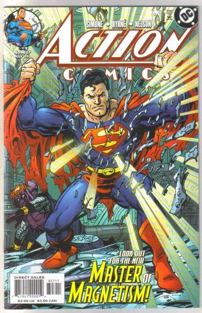 Action Comics #827 comic book mint 9.8
