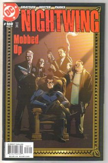 Nightwing #108 comic book mint 9.8