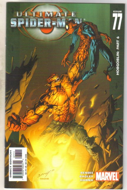 Ultimate Spider-man #77 comic book mint 9.8