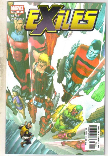 Exiles #64 comic book mint 9.8