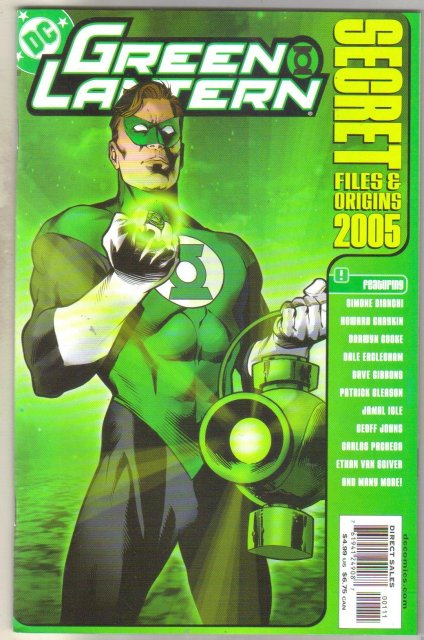 Green Lantern Secret Files and Origins 2005 comic book mint 9.8