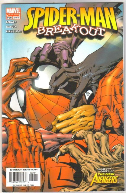 Spider-man Breakout #2 comic book mint 9.8