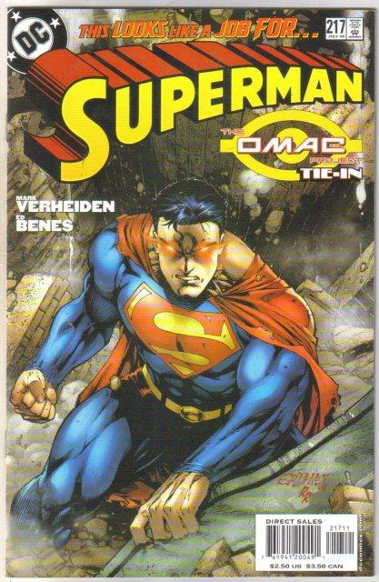 Superman #217 comic book mint 9.8
