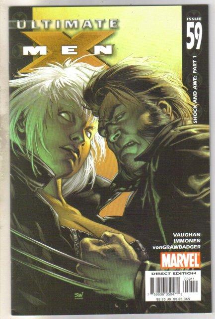 Ultimate X-men #59 comic book mint 9.8