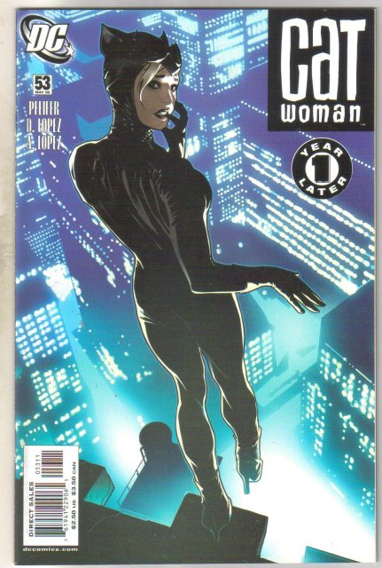 Catwoman #53 comic book mint 9.8
