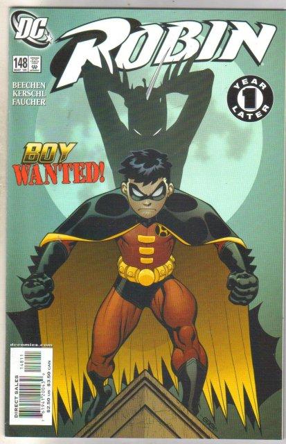 Robin #148 comic book mint 9.8