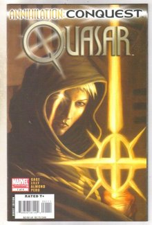 Annihilation Conquest Quasar #1 comic book mint 9.8