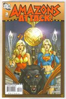 Amazons Attack #3 comic book mint 9.8