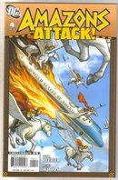 Amazons Attack #4 comic book mint 9.8