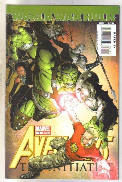 World War Hulk Avengers #4 comic book mint 9.8
