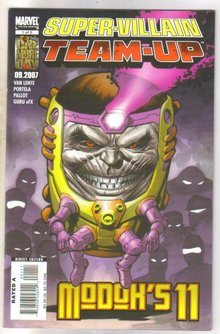 Super-Villain Team-up #1 comic book mint 9.8