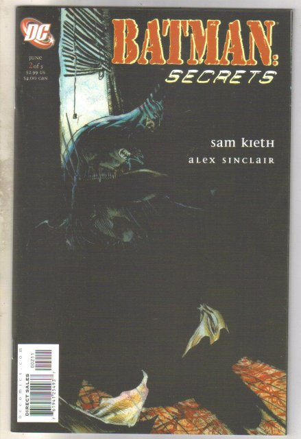 Batman: Secrets #2 comic book mint 9.8