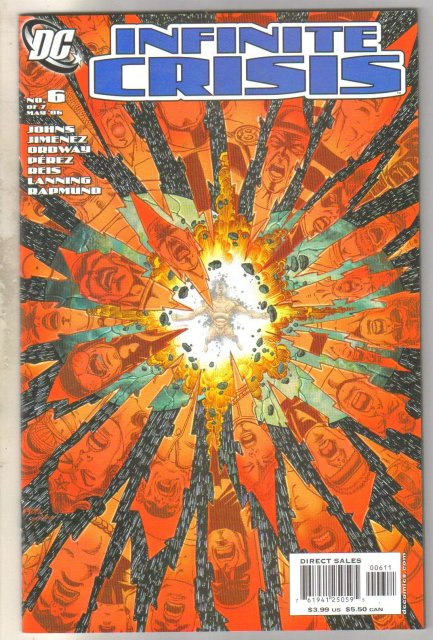 Infinite Crisis #6 comic book mint 9.8