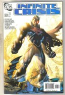 Infinite Crisis #6 alternate cover comic book mint 9.8