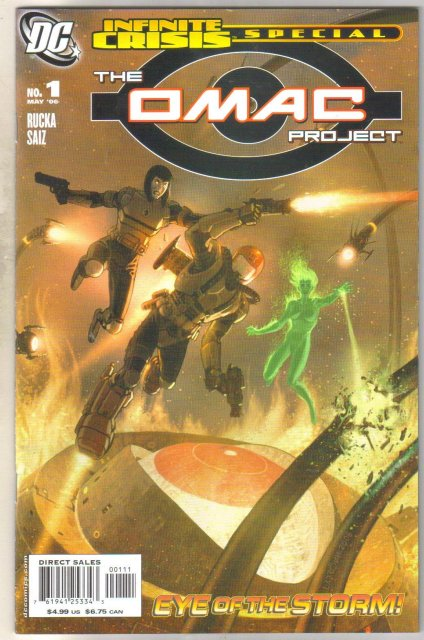 Infinite Crisis Special The Omac Project comic book mint 9.8