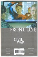 Front Line Civil War #2 comic book mint 9.8