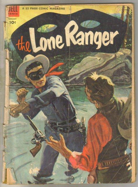 Lone Ranger #67 comic book poor 1.0