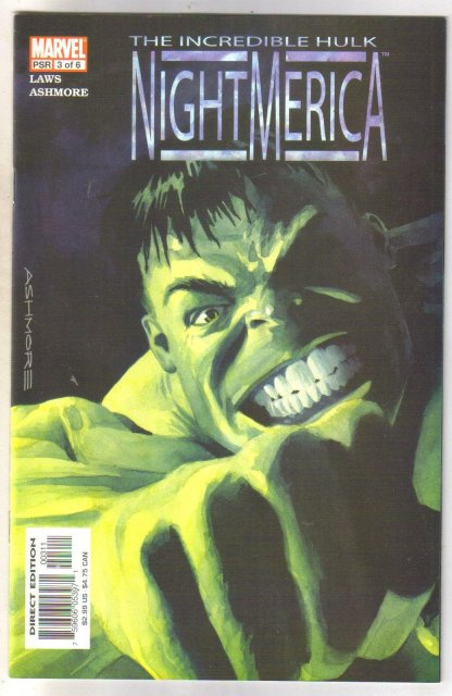 Incredible Hulk Nightmerica #3 comic book mint 9.8